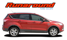 RUNAROUND : Ford Escape Upper Body Line Vinyl Graphics Decal Stripe Kit (VGP-2899)