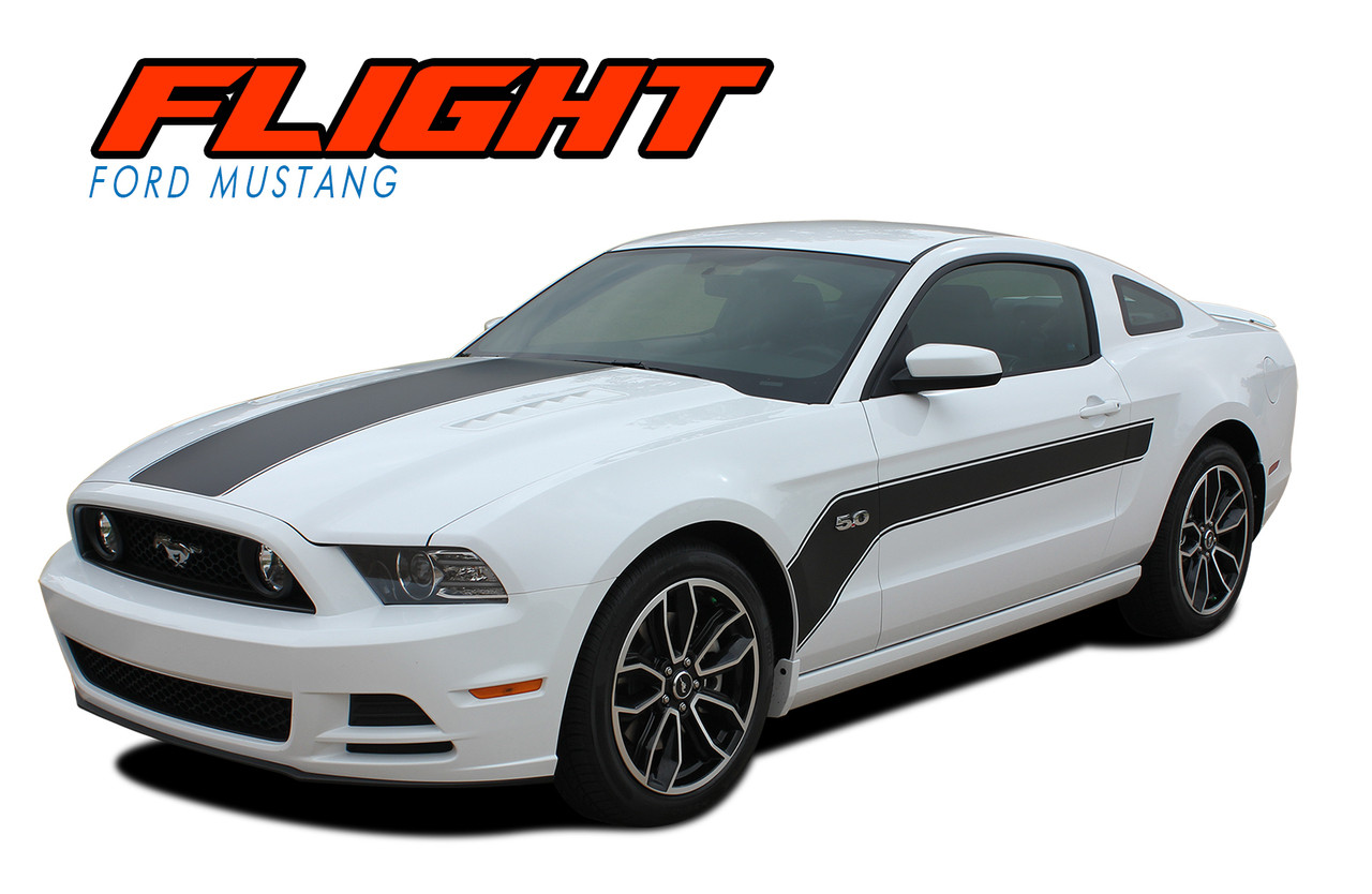 Flight Ford Mustang Hood Stripes Mustang Decals