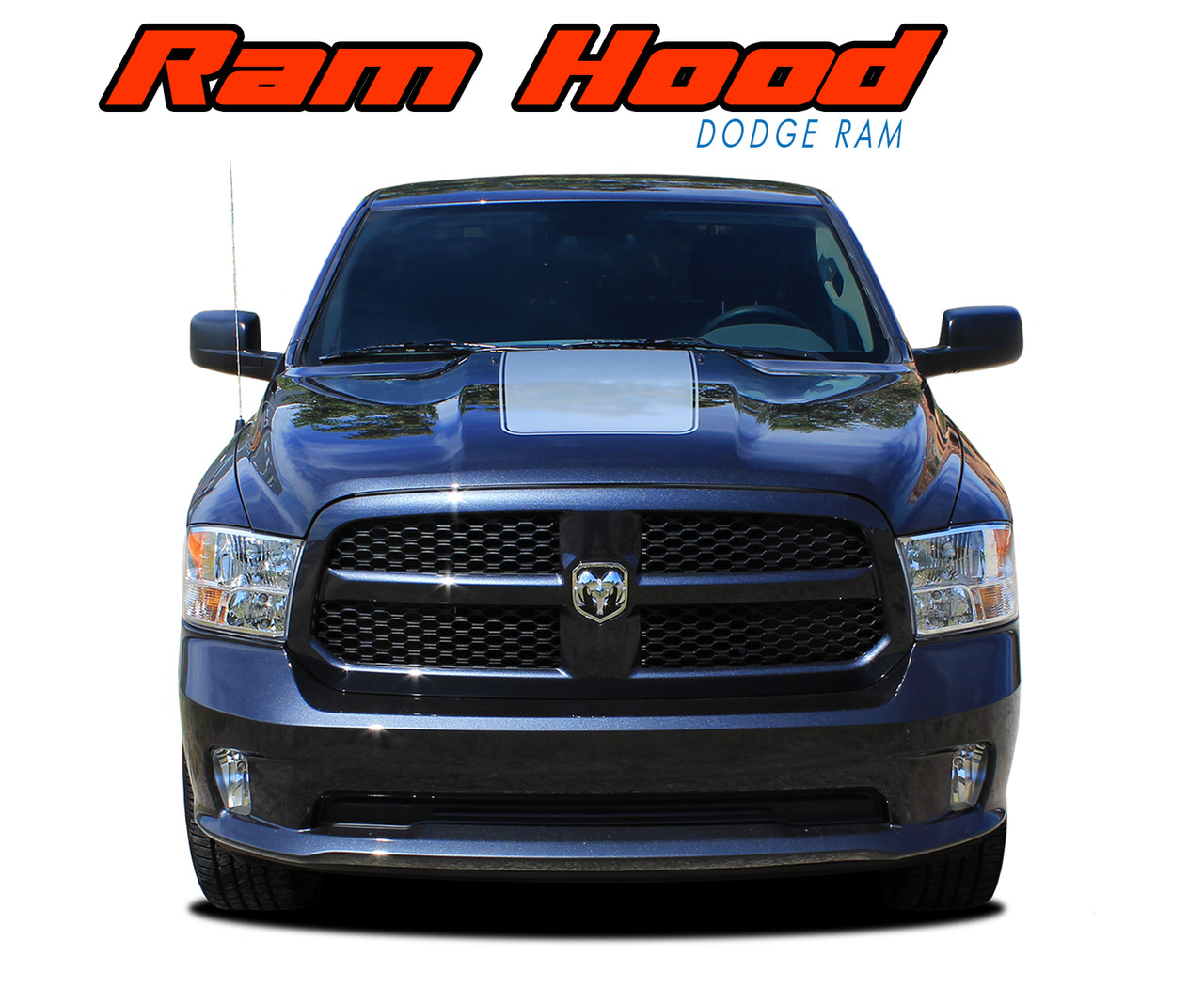 2017 Dodge 1500 >> RAM HOOD | Dodge Ram Hood Stripes | Dodge Ram Decals | Ram Vinyl Graphics