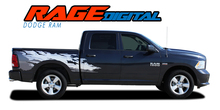 "RAM RAGE DIGITAL : 2009 2010 2011 2012 2013 2014 2015 2016 2017 2018 Dodge Ram ""Power Wagon Style"" Digital Screen Print Vinyl Graphics Decal Striping Kit (VGP-3106)"
