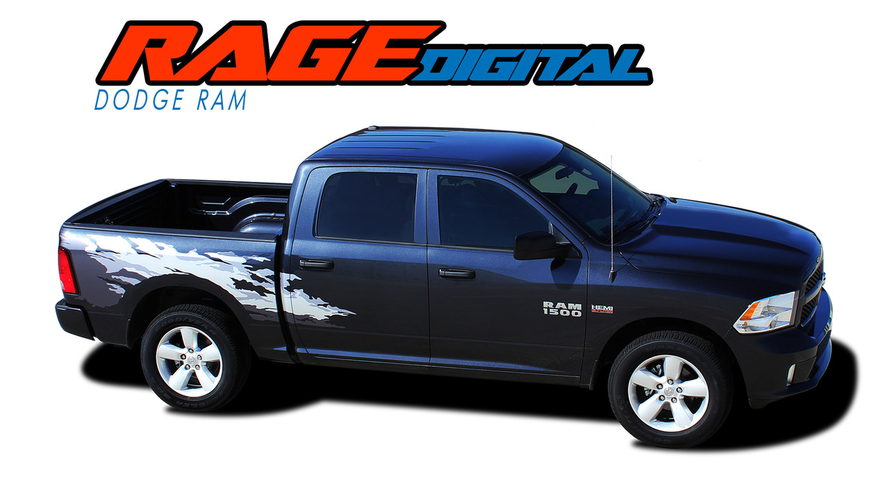 RAGE DIGITAL | Dodge Ram Bed Stripes | Ram Decals | Ram ...