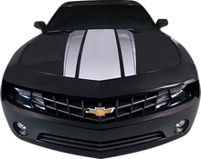 2014-2015 Chevy Camaro Aggressor Hood Vinyl Graphic Decal Stripe Kit (GRC54)