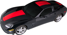 2005-2013 Chevy Corvette Center Racing Vinyl Graphic Decal Stripe Kit (GRV205)
