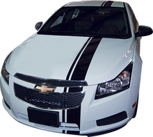 Chevy Cruze Euro Rally Racing Vinyl Graphic Decal Stripe Kit (GRZ203)