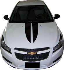 2011-2015 Chevy Cruze Hood Spears Vinyl Stripe Kit (GRZ204)