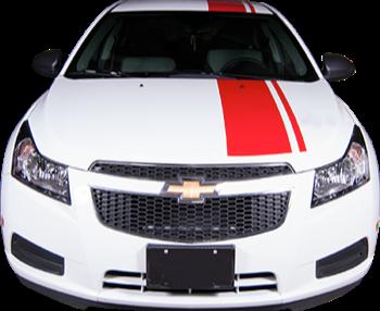 2011-2015 Chevy Cruze Enduro Rally Vinyl Stripe Kit (GRZ210)