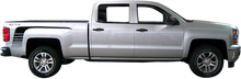 2014-2015 Chevy Silverado Hockey Strobe Vinyl Graphic Decal Stripe Kit (GRC65)