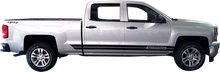 2014-2015 Chevy Silverado Dual Rocker Vinyl Graphic Decal Stripe Kit (GRC68)