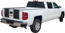 2014-2015 Chevy Silverado Rally Vinyl Graphic Decal Stripe Kit (GRC69)
