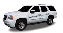 VICTORY : Automotive Vinyl Graphics - Universal Fit Decal Stripes Kit - Pictured with CHEVY SUBURBAN (ILL-DPL)