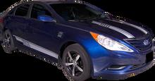 2009-2014 Hyundai Sonata Euro Vinyl Graphic Decal Stripe Kit (GRH200)