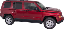 2007-2015 Jeep Patriot Body Line Strobe Vinyl Graphic Decal Stripe Kit (GRJ205)
