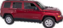 2007-2015 Jeep Patriot Body Line Strobe Vinyl Graphic Decal Stripe Kit (GRJ205)