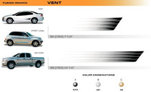 VENT Universal Vinyl Graphics Decorative Striping and 3D Decal Kits by Sign Tech Media, Inc. (STM-VN)