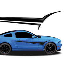 VIPER : Automotive Vinyl Graphics - Universal Fit Decal Stripes Kit - Pictured with FORD MUSTANG (ILL-916)