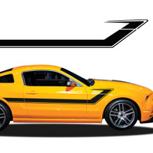 TRACER : Automotive Vinyl Graphics - Universal Fit Decal Stripes Kit - Pictured with FORD MUSTANG (ILL-917)