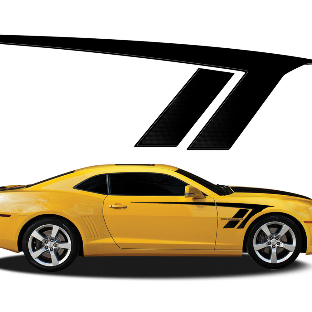 3e3f129142a3cc STINGRAY   Automotive Vinyl Graphics - Universal Fit Decal Stripes Kit -  Pictured with CHEVY CAMARO (ILL-920)