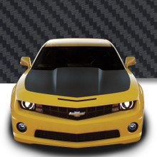HOOD WRAP : Automotive Vinyl Graphics - Universal Fit Decal Stripes Kit - Pictured with CHEVY CAMARO (ILL-922)
