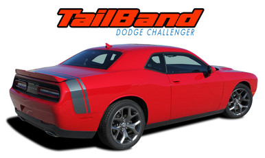 TAILBAND : 2011 2012 2013 2014 2015 2016 2017 2018 2019 Dodge Challenger Factory OEM Scat Pack Style Rear Quarter Panel Trunk Vinyl Rally Stripes (VGP-3425)