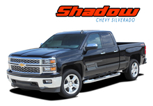 SHADOW : 2014 2015 2016 2017 2018 Chevy Silverado Vinyl Graphic Decal Lower Body Accent Stripe Kit (VGP-3688)