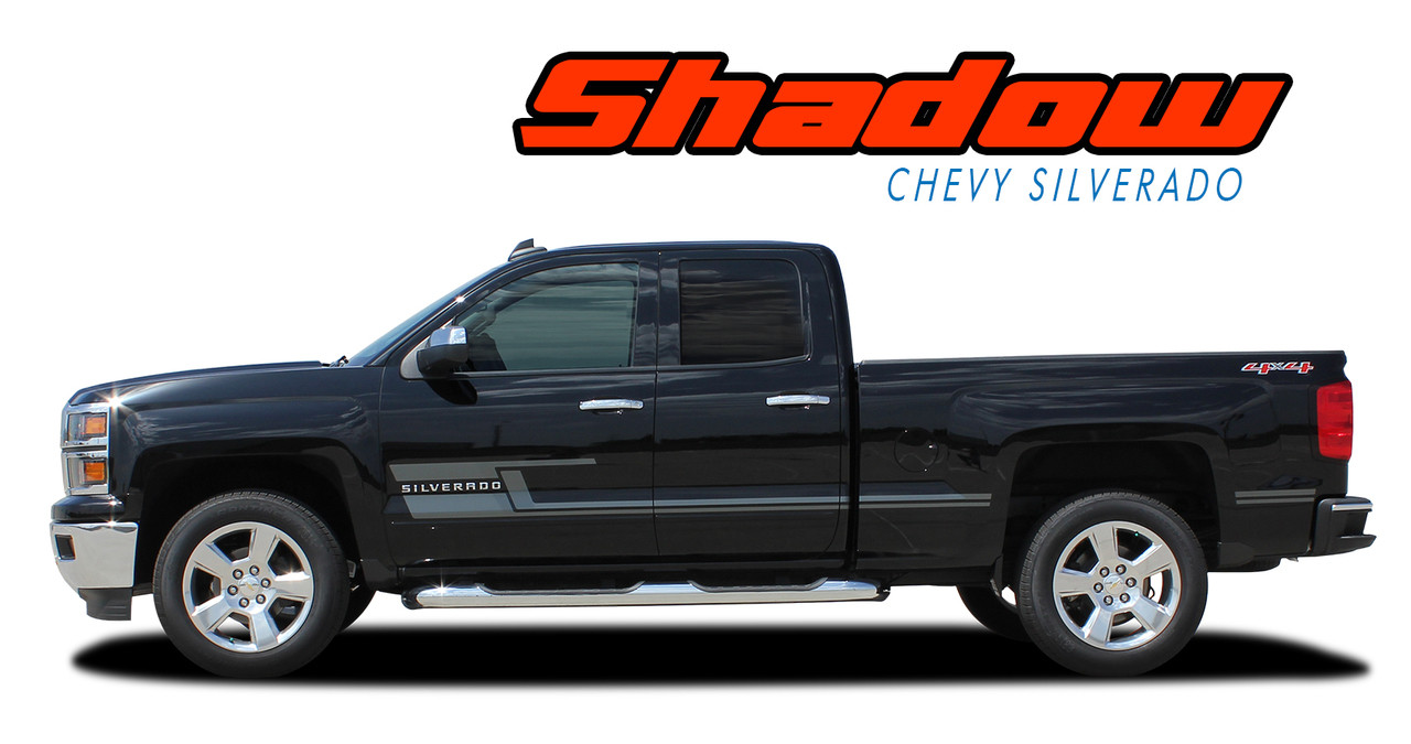 SHADOW | Silverado Door Stripes | Silverado Decals ...