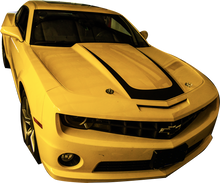 2010-2013 Chevy Camaro Hood Scallop Decal Vinyl Graphics Stripes Kit (GRC80)