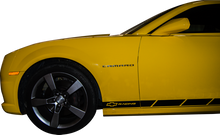 2010-2013 Chevy Camaro Bowtie Rally Lower Rocker Vinyl Graphics Decal Kit (GRC81)