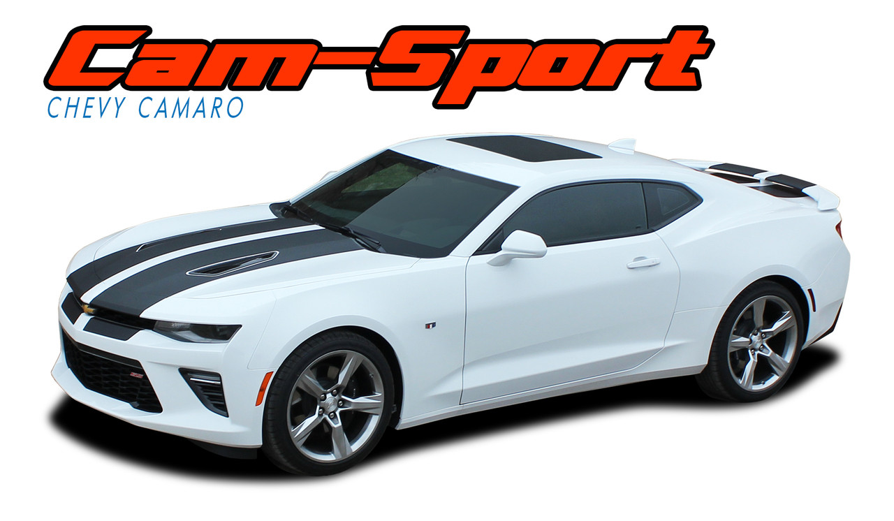 Cam Sport Camaro Racing Stripes Camaro Decals Vinyl Graphics
