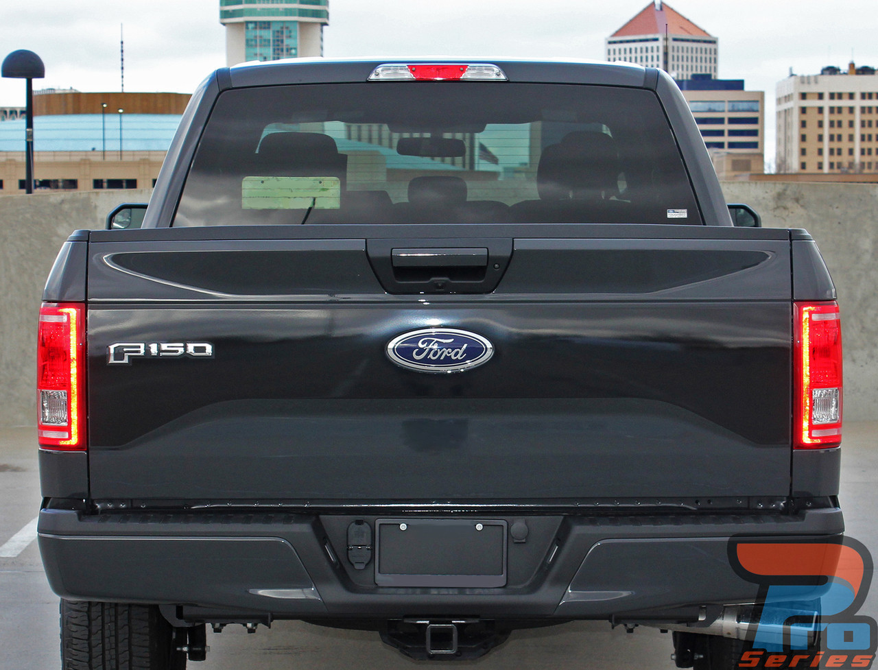 REBEL TAILGATE | Ford F150 Blackout Stripes | F150 Decals ...