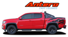 ANTERO : 2015 2016 2017 2018 2019 Chevy Colorado Rear Truck Bed Accent Vinyl Graphic Decal Stripe Kit (VGP-4152)