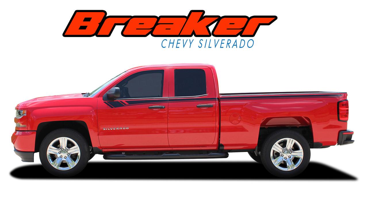 Breaker Silverado Stripes Silverado Decals Silverado Vinyl