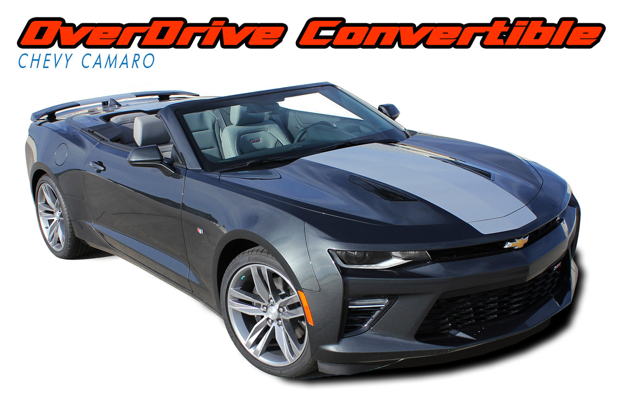 Overdrive Convertible Camaro Stripes Camaro Decals Camaro Vinyl Graphics