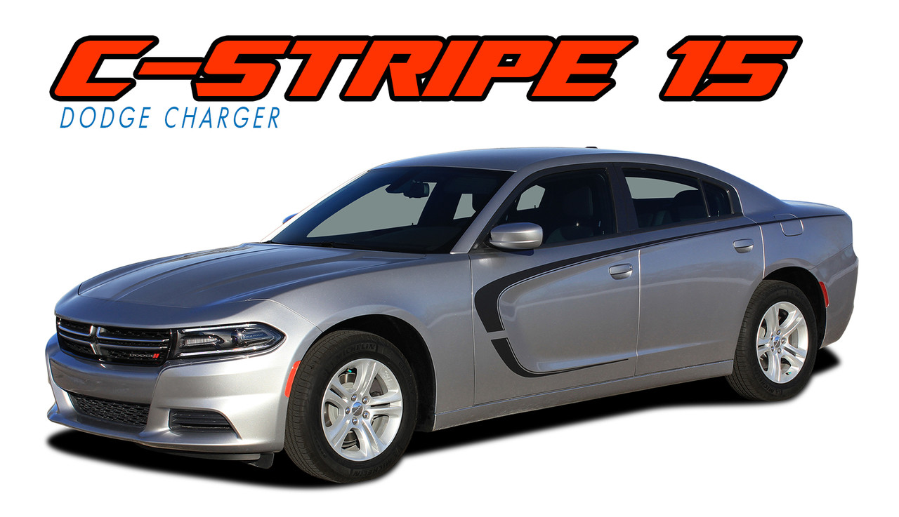 C-STRIPE 15 | Dodge Charger Stripes | Charger Decals ...