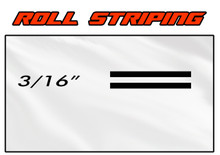 3/16 x 150ft Professional Vinyl Solid Color Accent Stripe Pin Striping Roll (VGP-316)