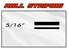 5/16 x 150ft Professional Vinyl Solid Color Accent Stripe Pin Striping Roll (VGP-516)