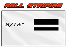 8/16 x 150ft Professional Vinyl Solid Color Accent Stripe Pin Striping Roll (VGP-816)