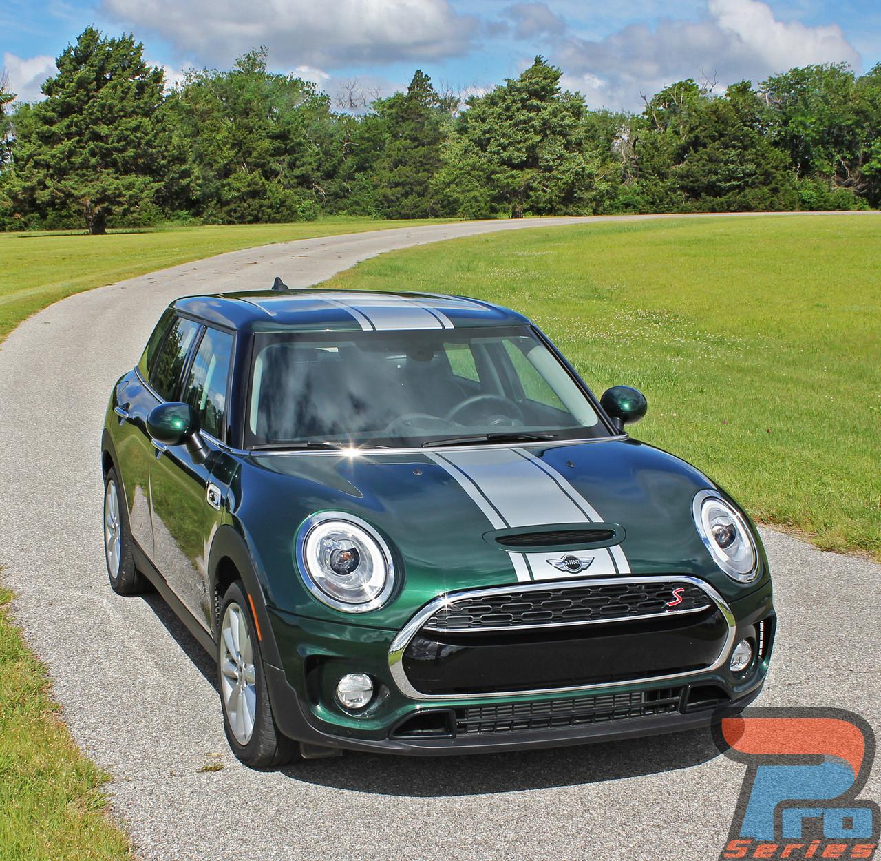 Mini Cooper Hood Stripes Vinyl Graphics Decals S Type Rally 2016 2018