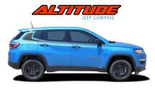 ALTITUDE : 2017 2018 2019 2020 2021 Jeep Compass Lower Rocker Panel Body Door Vinyl Graphics Decal Stripe Kit