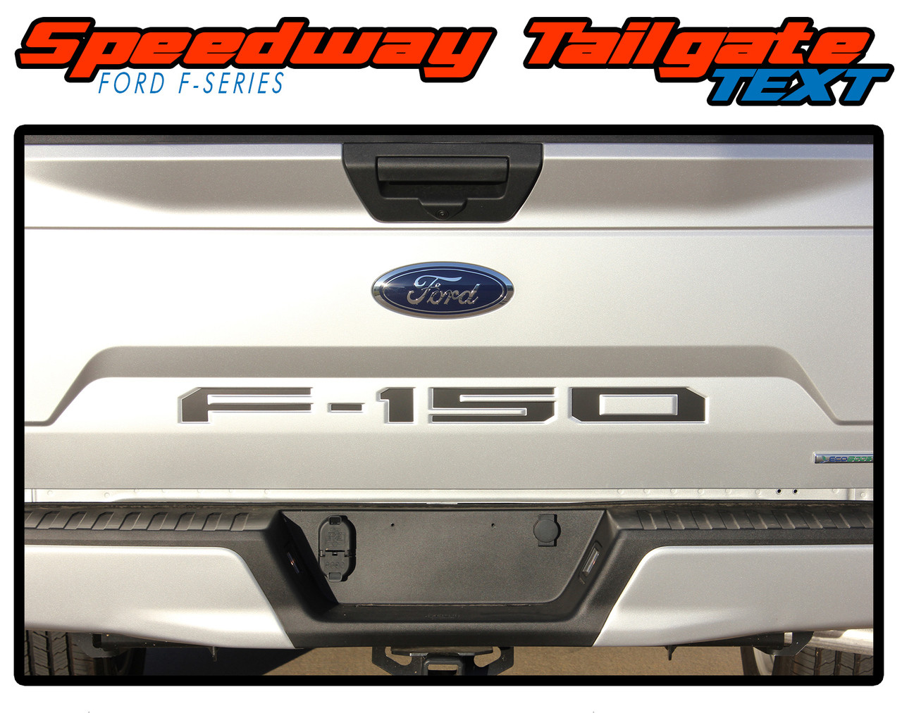 Ford F-150 Stripes Tailgate Inlay Text Vinyl Graphics ...