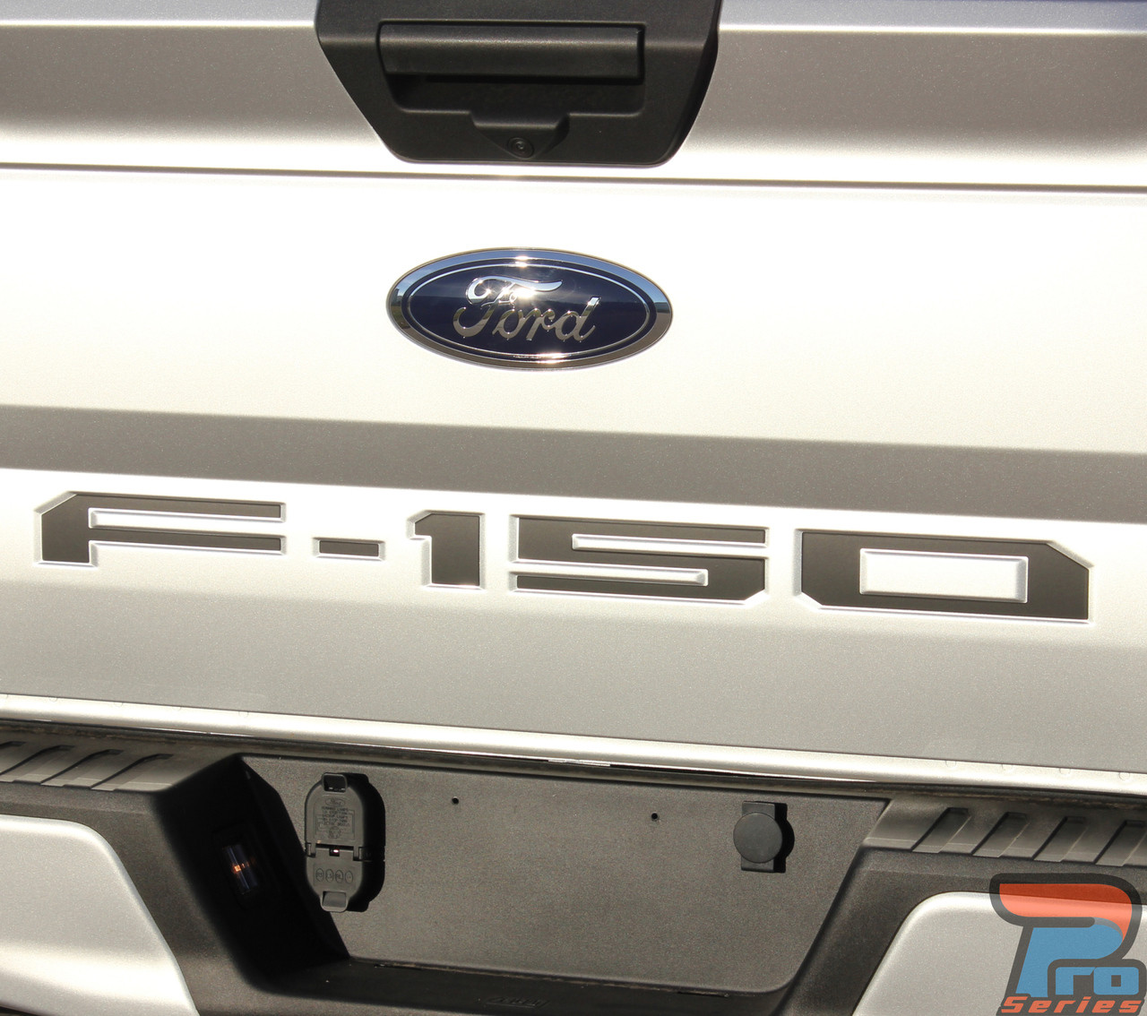 Ford F 150 Stripes Tailgate Inlay Text Vinyl Graphics