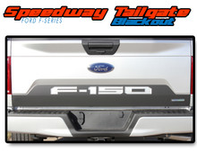 SPEEDWAY TAILGATE BLACKOUT : 2018 2019 Ford F-150 Rear Tailgate Vinyl Graphics Decals Kit (VGP-5248)