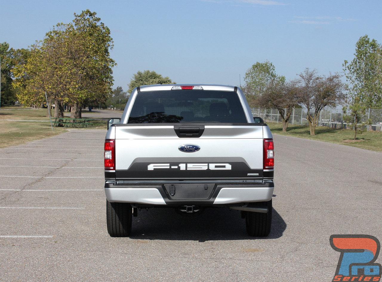 SPEEDWAY TAILGATE BLACKOUT | Ford F150 Stripes | F150 ...