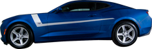 2016-2018 Chevy Camaro Stripe Check Stripes Rocker Vinyl Graphic Decal Kit (GRC94)