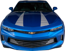 2016-2018 Chevy Camaro Stripe Clone Hood Vinyl Graphic Decal Kit (GRC90)
