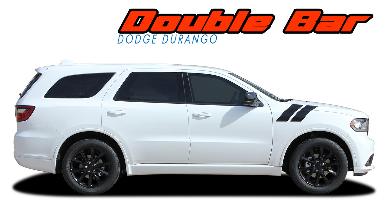 Double Bar Dodge Durango Stripes Durango Decals Durango Vinyl Graphics