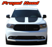 PROPEL HOOD : 2011-2020 Dodge Durango Hood Stripes Decals Vinyl Graphics Kit (VGP-5521)