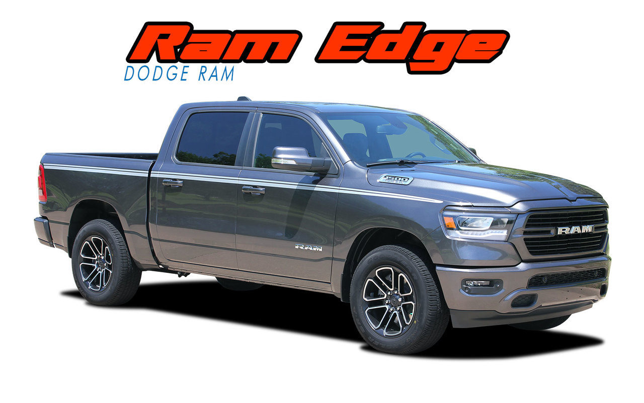 Edge 2019 Dodge Ram Stripes Ram Fender Decals Ram Vinyl Graphics