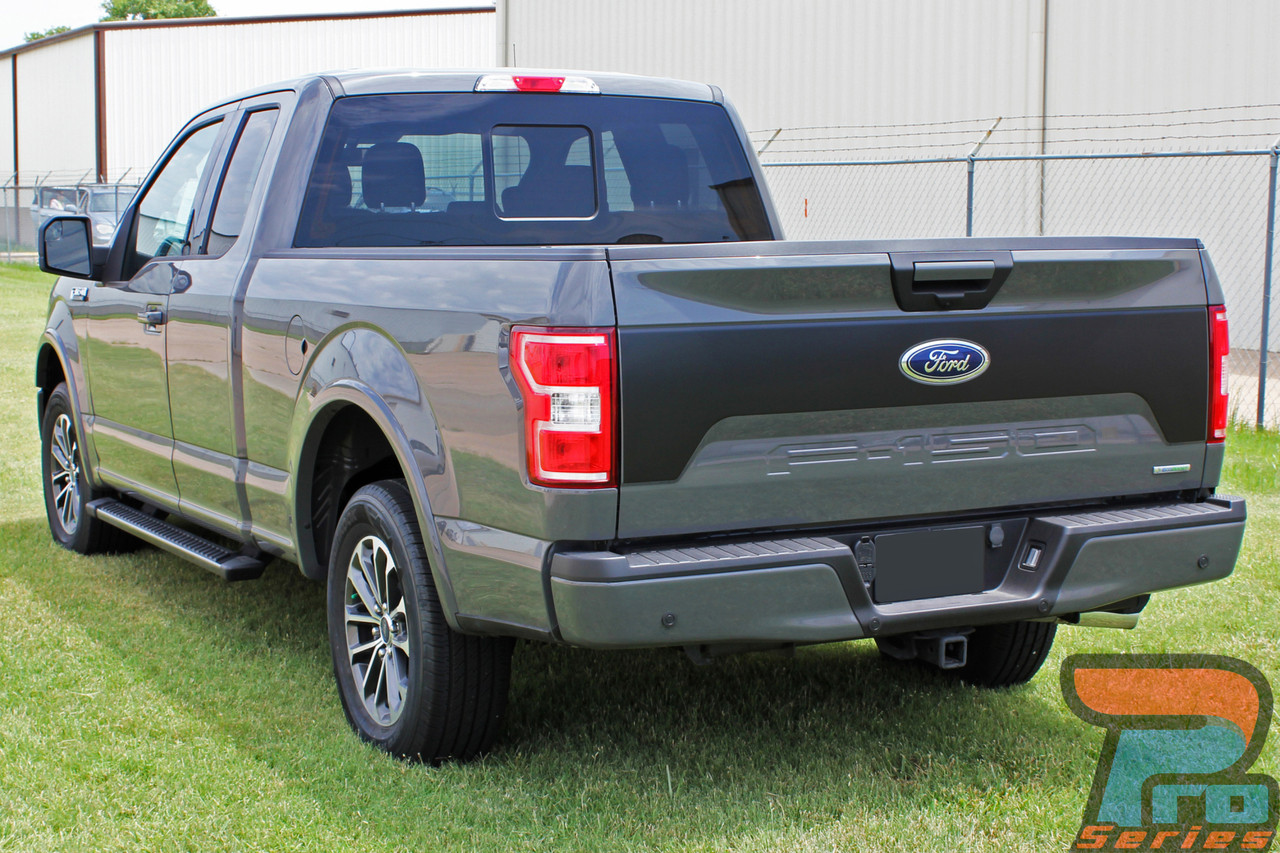 2018 rebel tailgate  ford f150 blackout stripes  f150