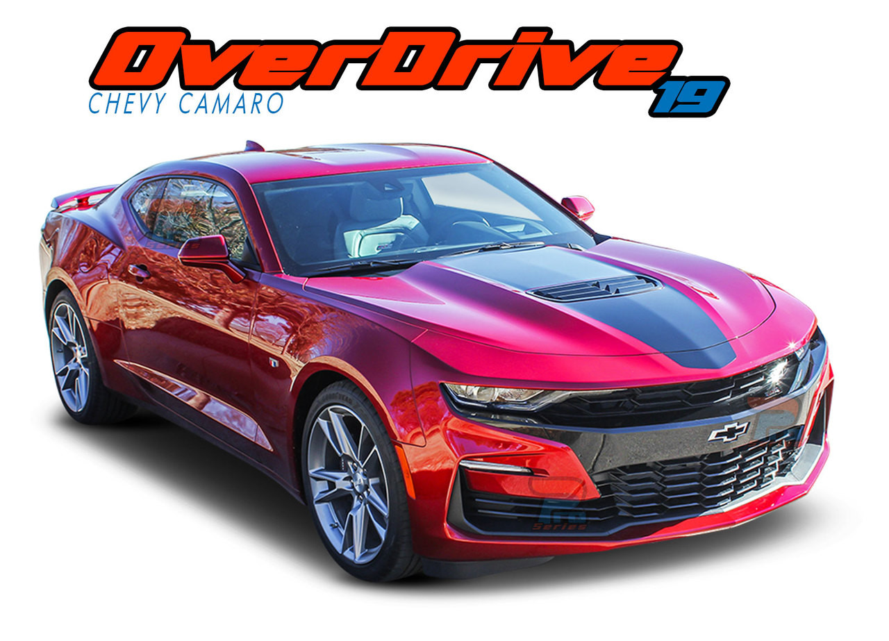 Overdrive 2019 2021 Camaro Stripes Camaro Decals Camaro Vinyl Graphics