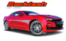 BACKLASH : 2019 2020 Chevy Camaro Side Body Stripes Decals Vinyl Graphics Kit